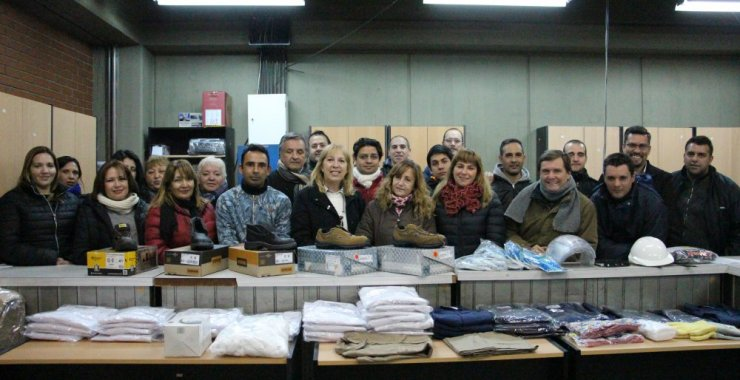 Continúa la inversión en accesorios e indumentaria a personal de la UNSL