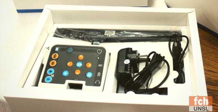 Entregaron equipamientos a estudiantes con discapacidad visual