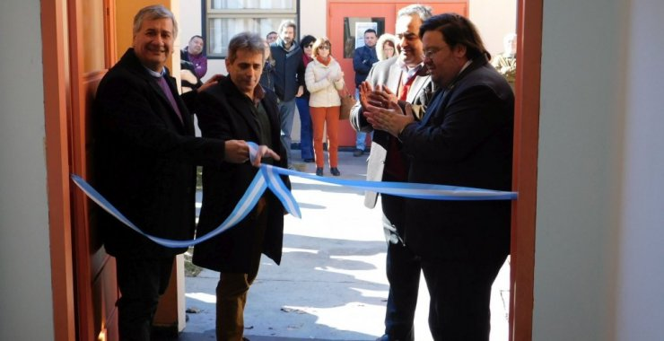Inauguraron la obra de ampliación de oficinas y Droguero en Villa Mercedes
