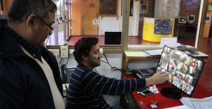 Instalan cámaras para prevenir situaciones de robos e inseguridad