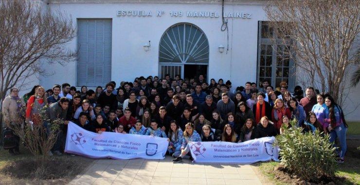 Intensa jornada de la UNSL en el sur de San Luis