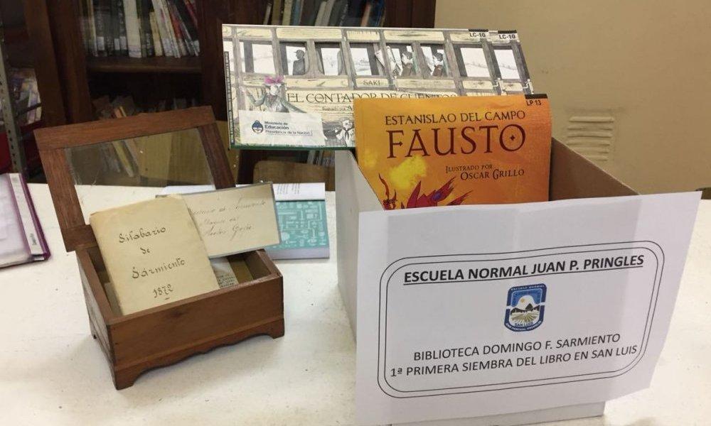 Organizan la Primera Siembra Mundial del Libro en San Luis