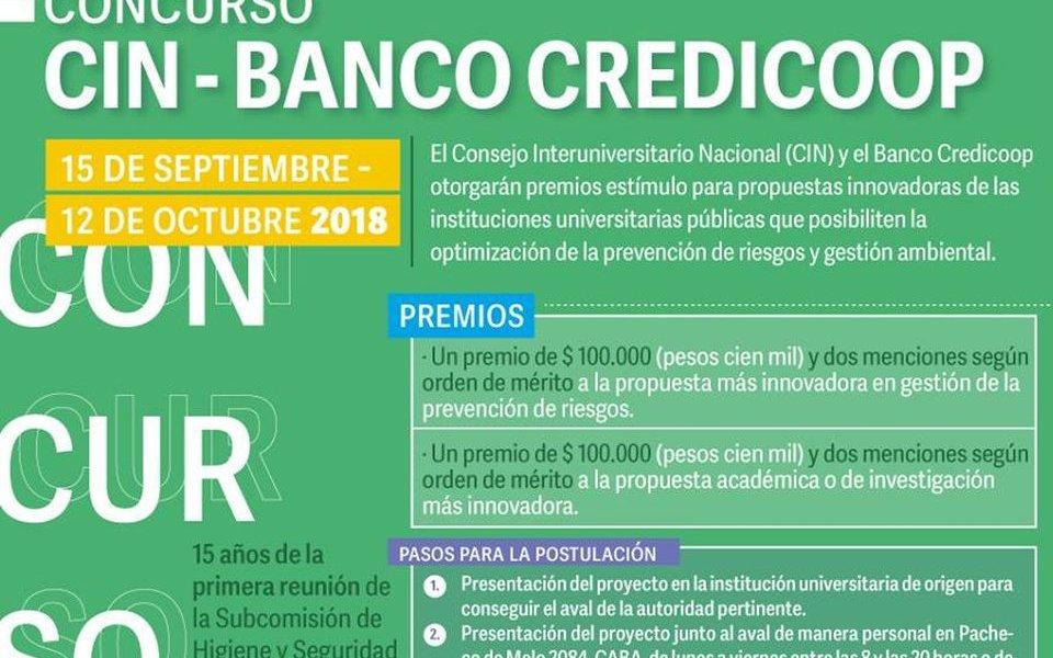 Participá del concurso CIN – Banco Credicoop
