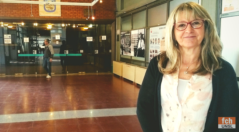 A través de AUGM profesora de Uruguay visita la UNSL
