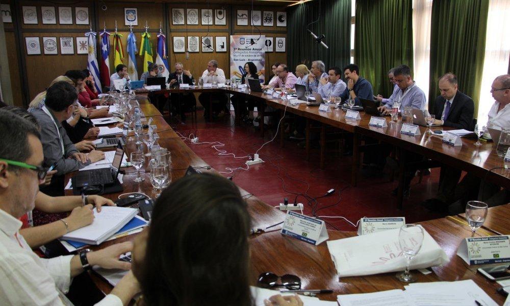 Delegados de AUGM alentaron la internacionalización de jóvenes investigadores