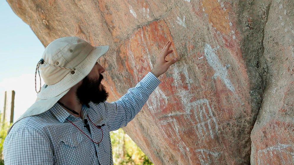 """""""Mensajes ancestrales"""", un documental que explora el arte rupestre de San Luis"""