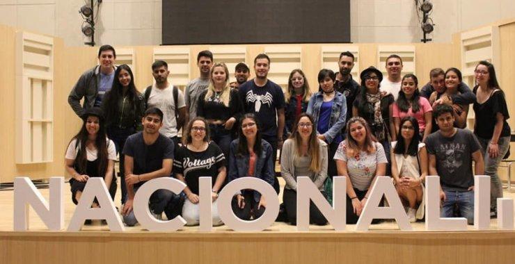 Estudiantes de la UNSL visitaron medios de comunicación de Buenos Aires