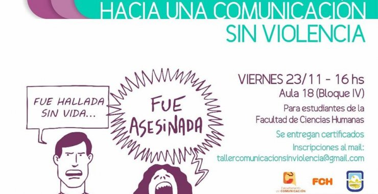 """Se aproxima el taller """"Hacia una comunicación sin violencia"""""""
