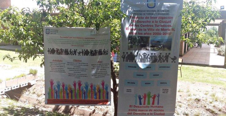 Turismo y Urbanismo visibilizó sus proyectos de investigación y extensión