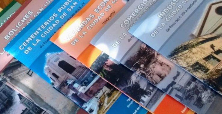 Entregarán libros sobre historia local a Escuelas de la ciudad de San Luis