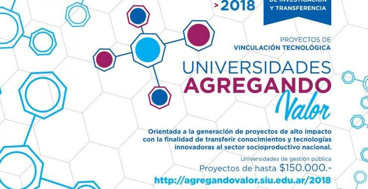 """Seis proyectos serán financiados desde """"Universidades Agregando Valor"""""""
