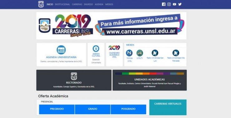 La Universidad lanzó su nuevo sitio web
