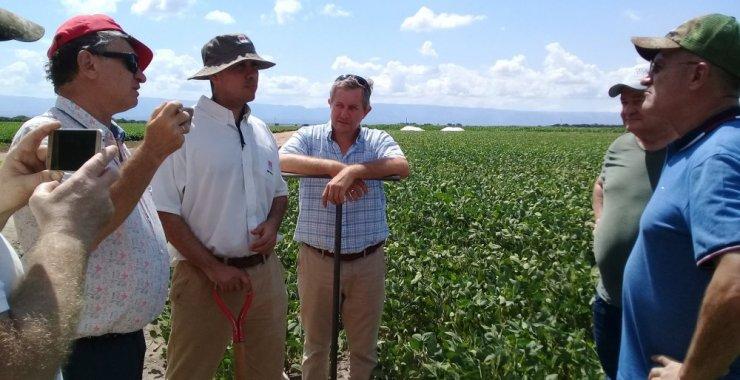 Visita de productores agrícolas de Ucrania a la UNSL