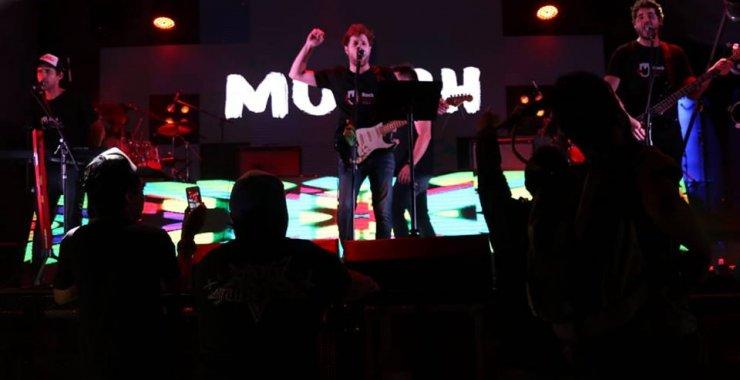Show de Munch tributo a Pink Floyd