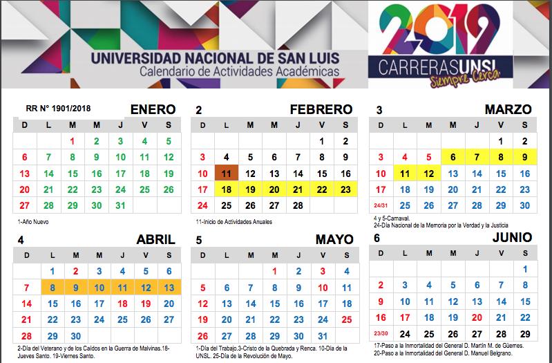 Adaptan el Calendario al dispuesto por el Gobierno de la Provincia