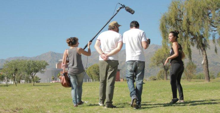 UNSL TV en una producción para Canal Encuentro