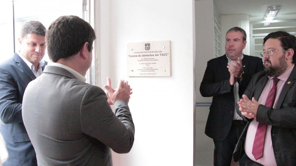 La UNSL inauguró su cocina para celíacos