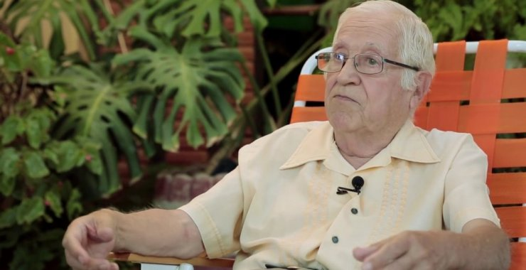Murió Julio Domínguez, autor de la insignia de la UNSL
