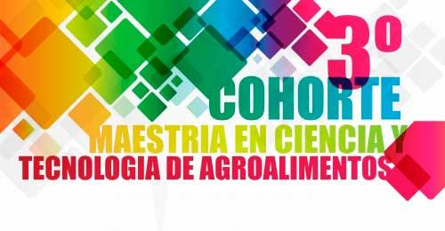 Inscriben a la Maestría en Ciencia y Tecnología de Agroalimentos