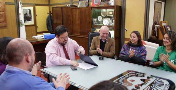 Adhesión de la UNSL a la Ley Micaela