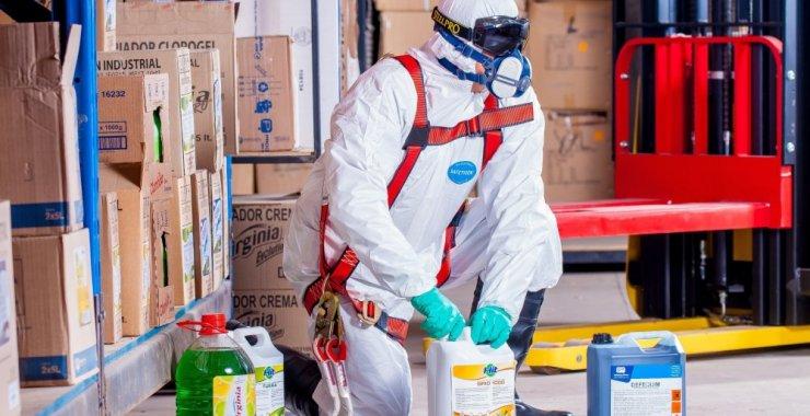 Capacitarán en la prevención de riesgos en el uso de productos químicos