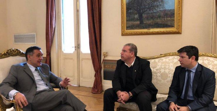 Víctor Moriñigo se reunió con el Ministro de Educación de la Nación