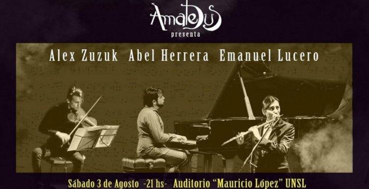 Amadeus presenta a Zuzuk, Herrera y Lucero en Concierto