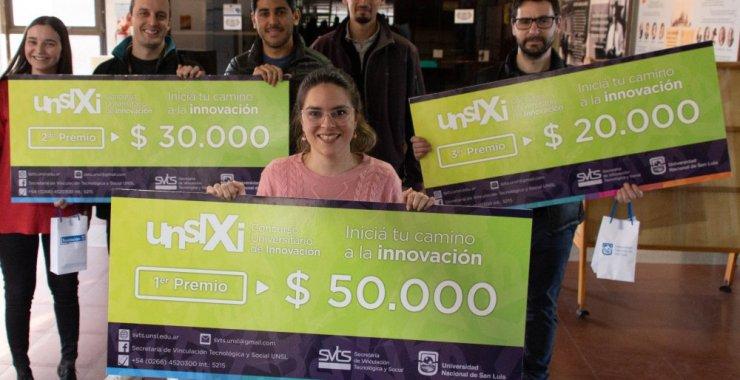 El Concurso Universitario de Innovación premió a sus ganadores