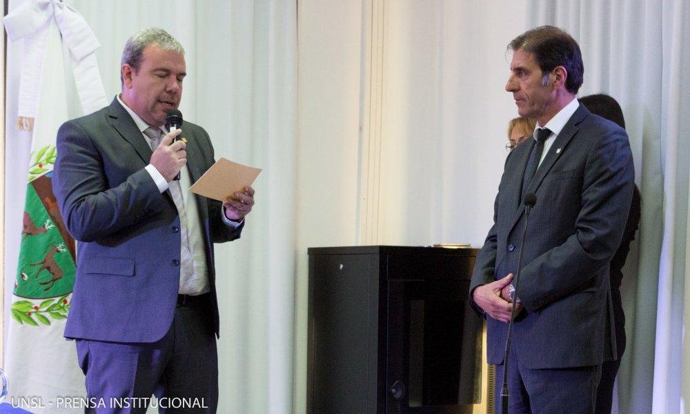 Gabriel Tognelli asumió como decano normalizador en Merlo