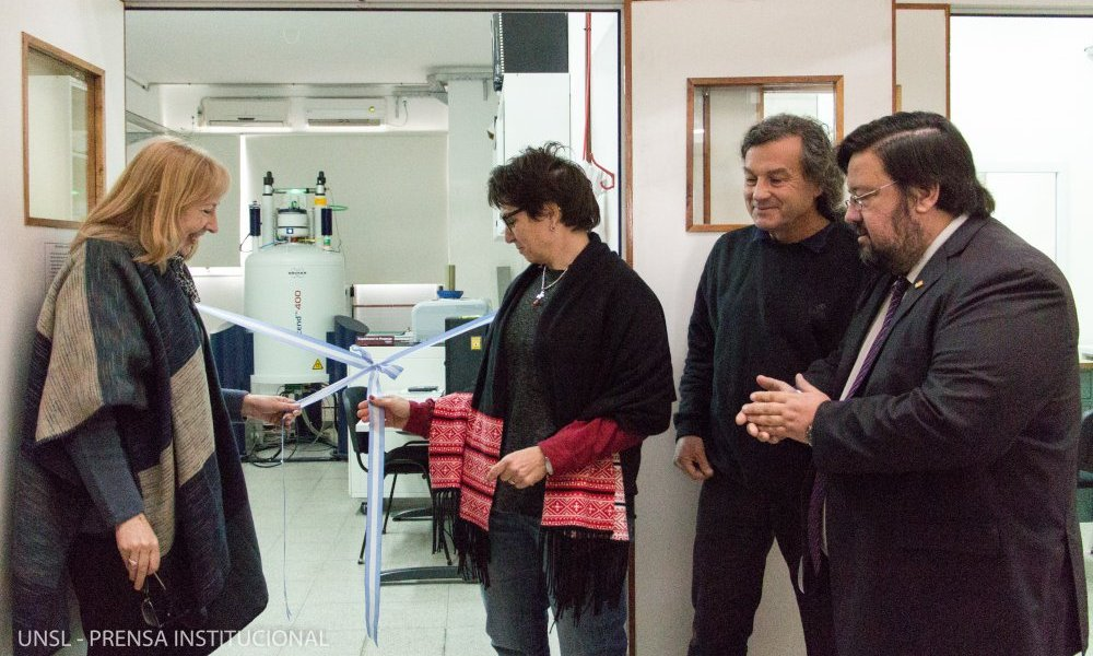 Inauguraron el Laboratorio de Resonancia Magnética Nuclear