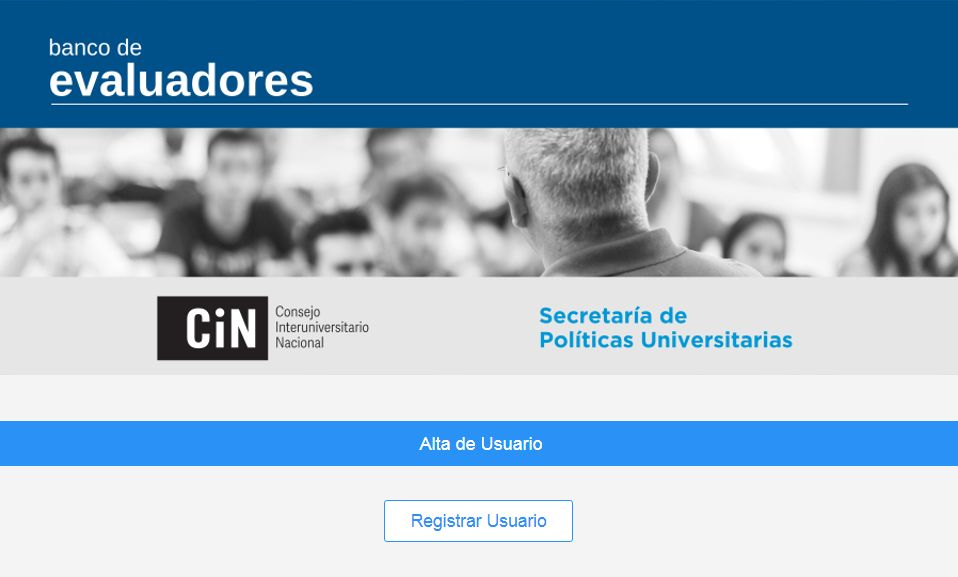 Convocan a registrarse en el Banco de Evaluadores del Sistema Universitario Argentino