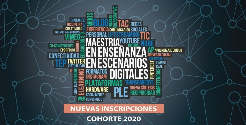 Inscriben a la Maestría en Enseñanza en Escenarios Digitales