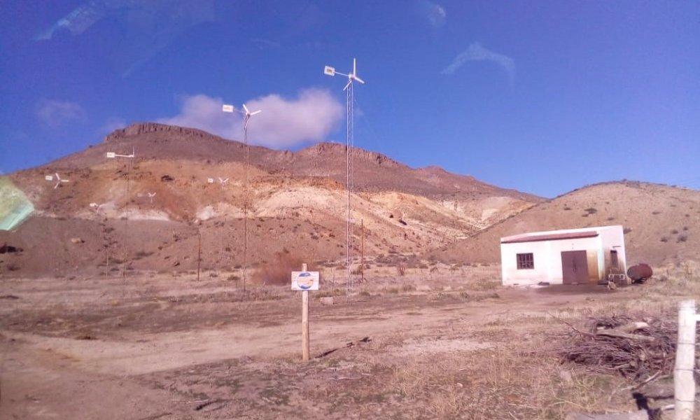 La UNSL participa en el desarrollo rural con energía eólica
