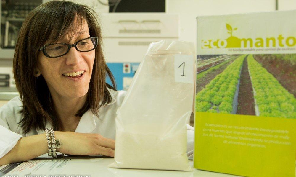 Crean un manto biodegradable para inhibir malezas para el cultivo orgánico