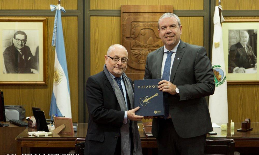 La Universidad recibió al Ministro de Relaciones Exteriores y Culto de la Nación