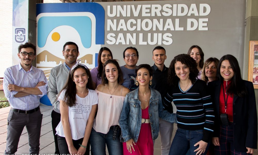 Estudiantes de intercambio se forman en la Universidad
