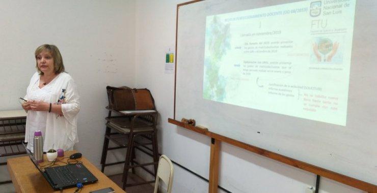 Charla informativa sobre Investigación y Posgrado