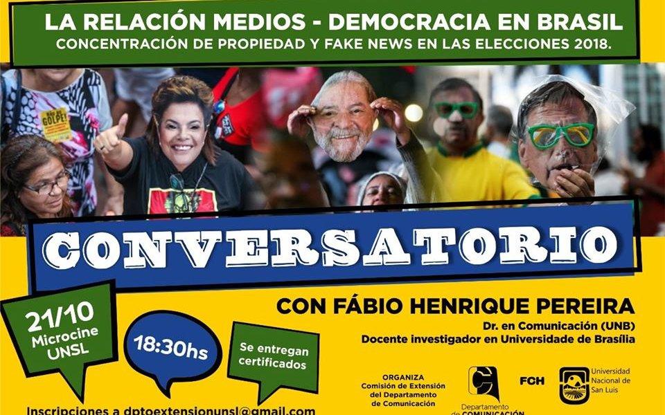 Conversatorio: «Medios y Democracia en Brasil»