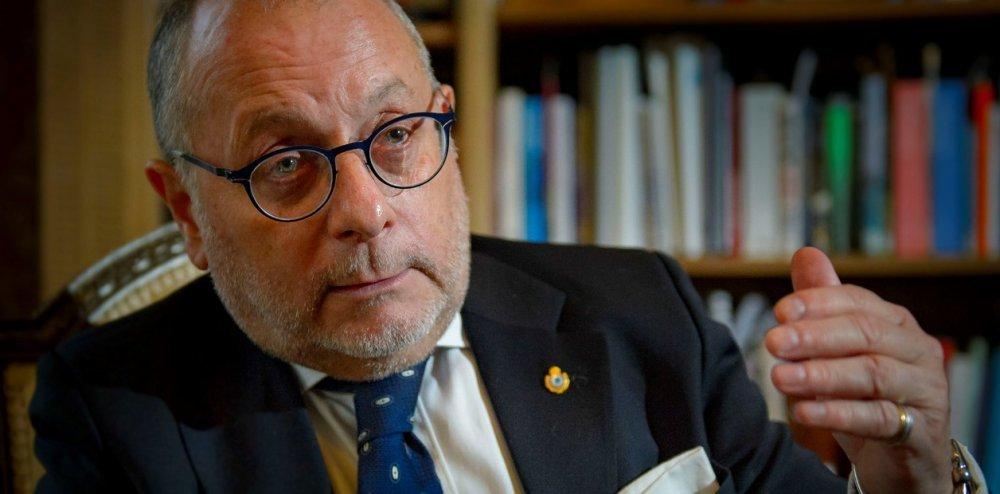 El canciller Jorge Faurie en la Universidad