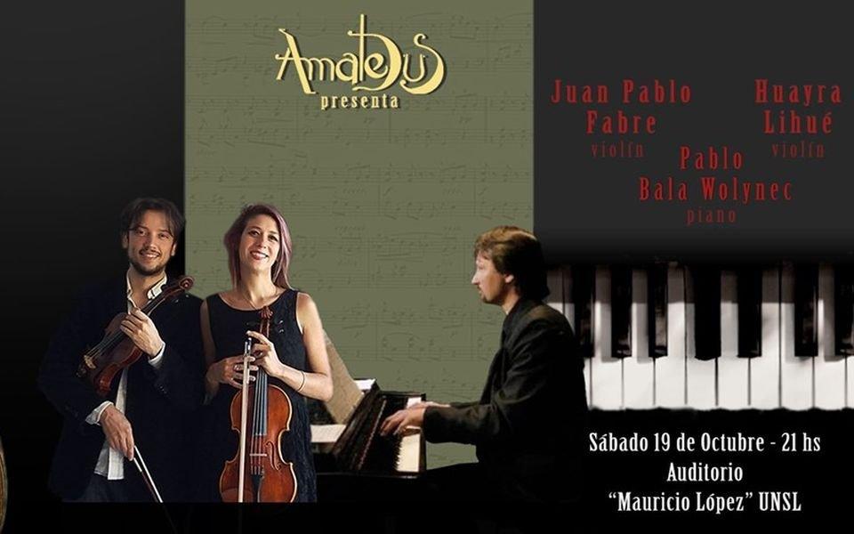 Concierto de Piano y Violín de Fabre-Lihué-Wolynec
