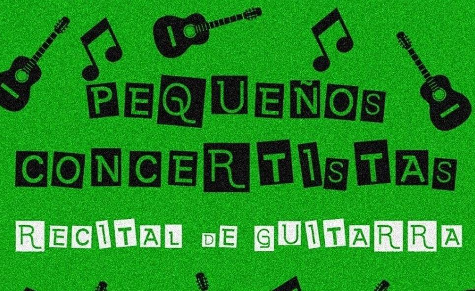 Recital de Guitarra de Pequeños Concertistas