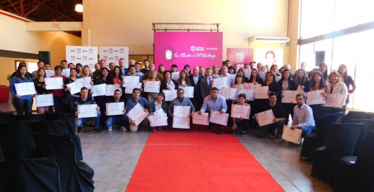 Certificaron a personal de la UPrO capacitados por la UNSL