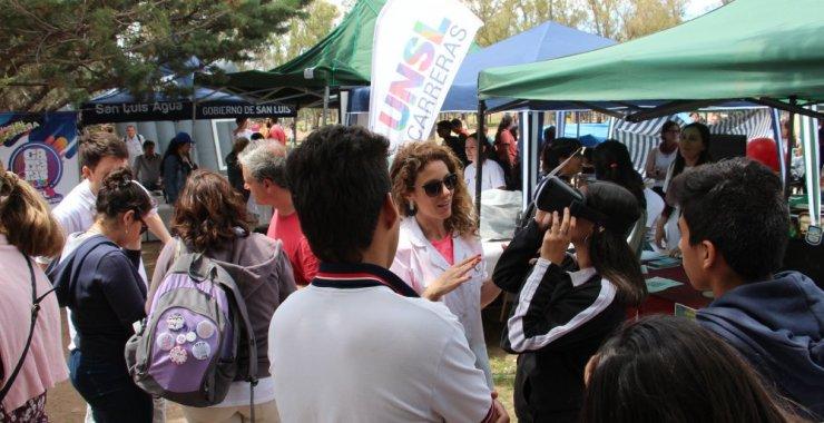 Expo carreras 2020 en el Parque de las Naciones