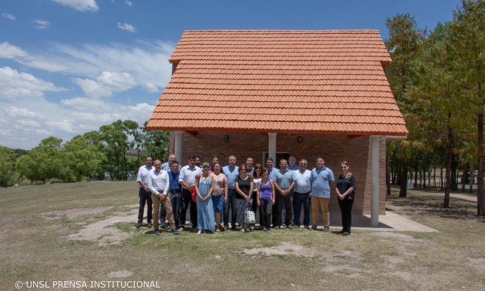 Inauguraron la cuarta cabaña en el complejo turístico La Florida