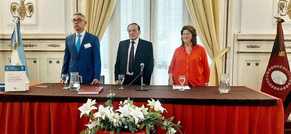 Asesores Jurídicos de Universidades Nacionales reunidos en Red