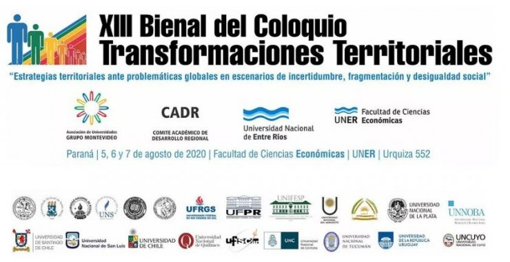 XIII Bienal del Coloquio de Transformaciones Territoriales