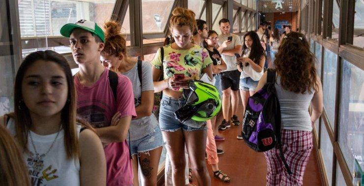Más de cinco mil estudiantes eligen la UNSL