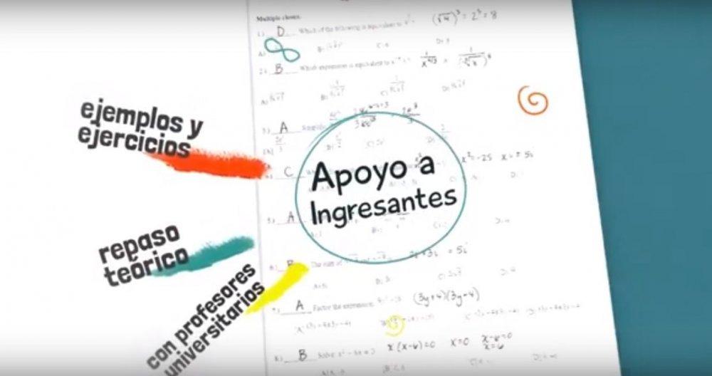 Desarrollan contenidos matemáticos audiovisuales para ingresantes 2020