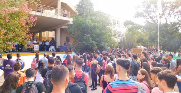 La UNSL le dio la bienvenida los ingresantes en Villa Mercedes