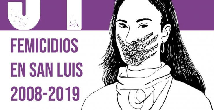 «Ellas nos faltan», un trabajo que visibiliza los femicidios en San Luis